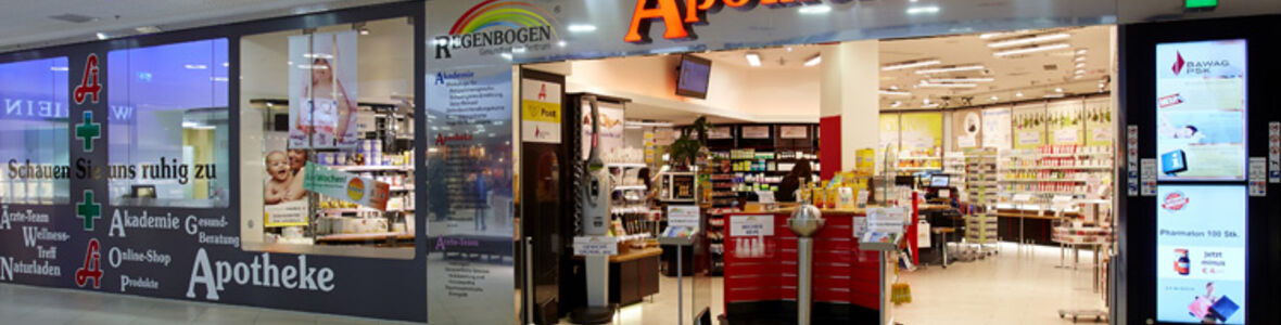 Regenbogen Apotheke Center West Graz