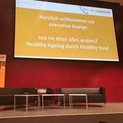 """Executive Lounge: Isst im Alter alles anders?"", Graz 16.1.2018"
