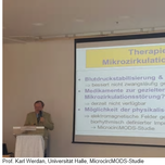 "Internationaler Ärzteworkshop ""MIKROZIRKULATION"" in BERLIN 24.02.2018"