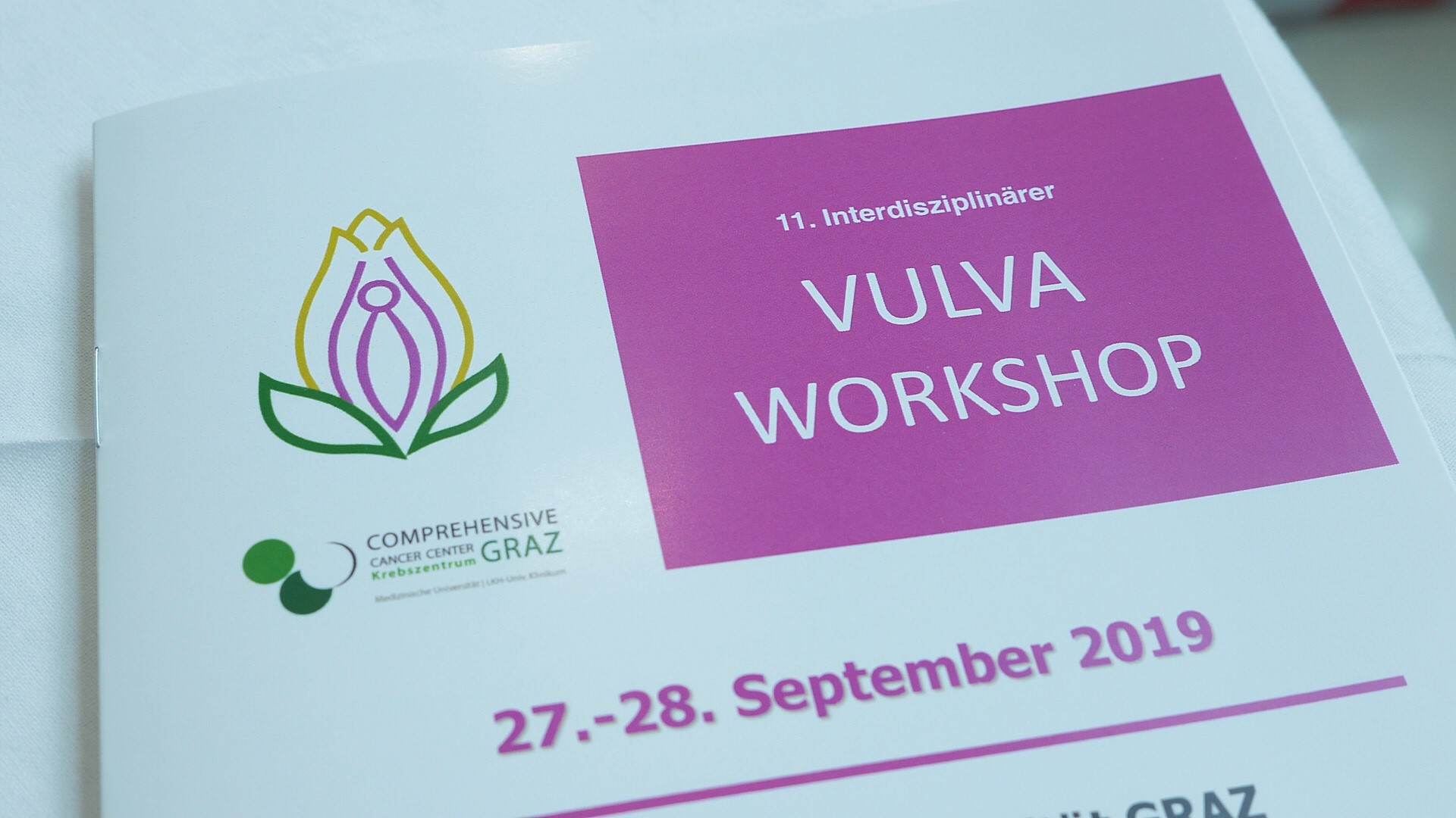 11. Interdisziplinärer Vulvaworkshop in Graz 2019 - Eventvideo