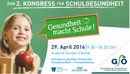CredoMedia am 2. Kongress für Schulgesundheit am 29.April 2016