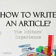 How to Write an Article: The Editors' Experience