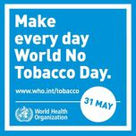 Днес е World No Tobacco Day (31 May 2018)