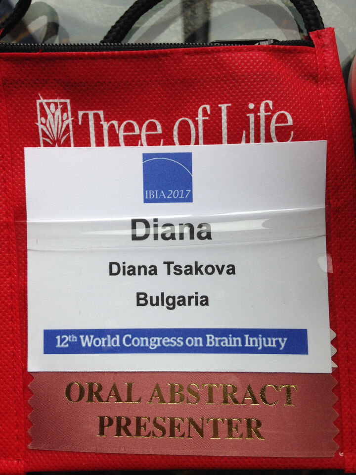 12th  World Congress on Brain Injury, March 29 - April 1, 2017, New Orleans, USA.