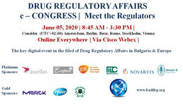 ДИРЕКТОРЪТ НА EUROPEAN MEDICINES AGENCY (EMA) - ПРОФ. ГИДО РАЗИ - СПЕЦИАЛЕН ГОСТ НА DRUG REGULATORY AFFAIRS e-CONGRESS | MEET THE REGULATORS | 10 YEARS BADI ЩЕ СЕ ПРОВЕДЕ НА 5 ЮНИ 2020