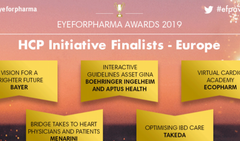 Socio de CredoWeb con una nominación en eye for pharma 2019
