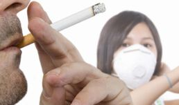Passive smoking for children increases chronic lung risk