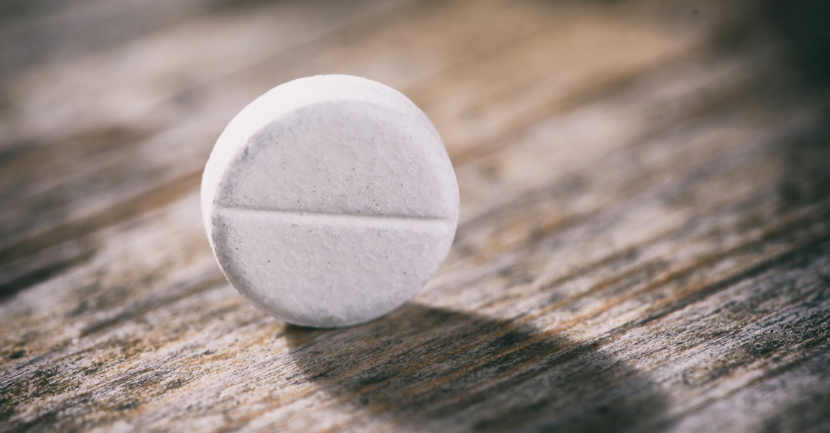 Daily low-dose aspirin no longer recommended