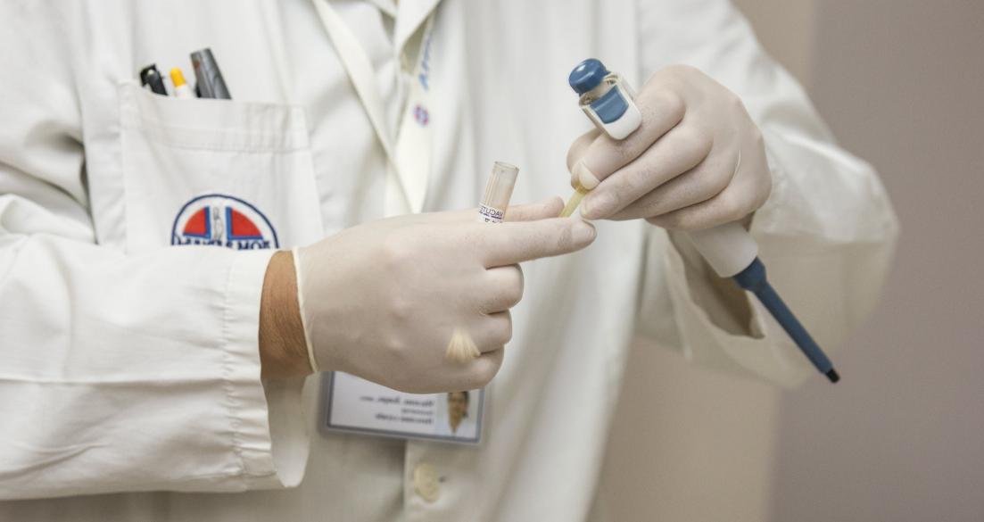 Test probe for diabetes