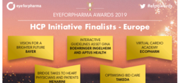 CredoWeb partner with a nomination at eyeforpharma 2019