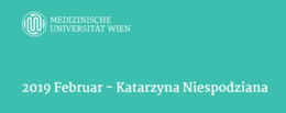 MedUni Wien RESEARCHER OF THE MONTH Februar 2019