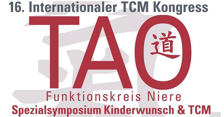 Save the date: 16. Internationaler TCM Kongress 26. - 28. September 2019 in Graz