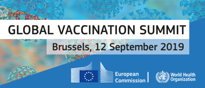 Global vaccination summit in September 2019
