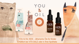 YOU & OIL Kids – ätherische Öle speziell für Kinder