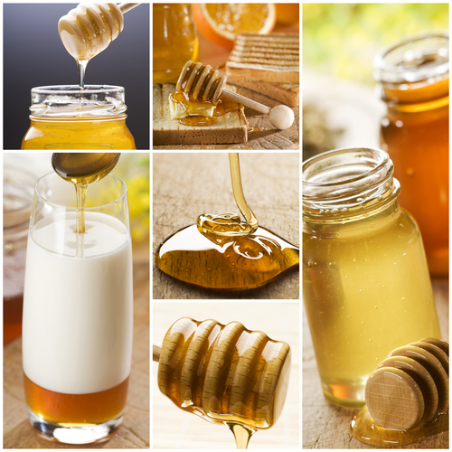 Honey is a good first treat for a cough