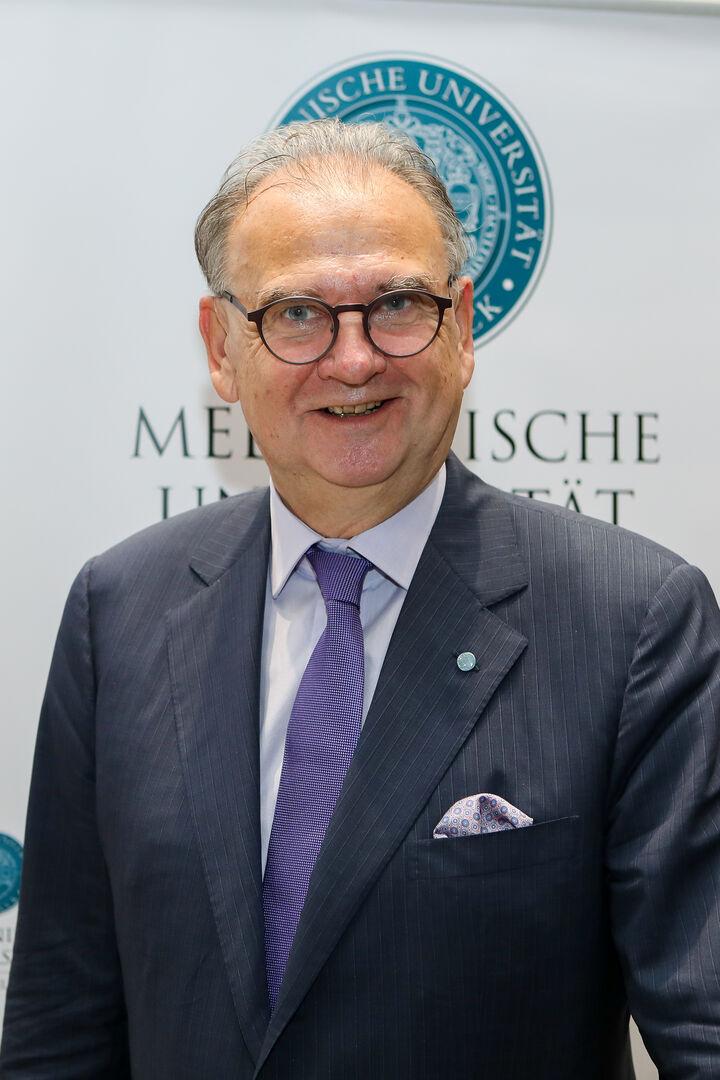 Rektor W. Wolfgang Fleischhacker